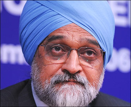 Montek Singh Ahluwalia.