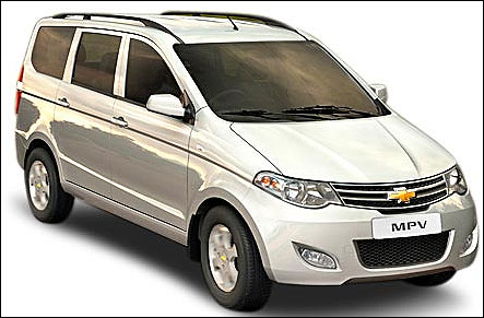 New MPV in town. Chevrolet Enjoy at Rs 6.5 lakh