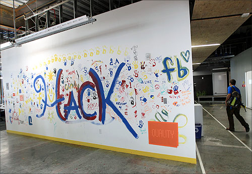 A tour of the fantastic Facebook office - Rediff com Business
