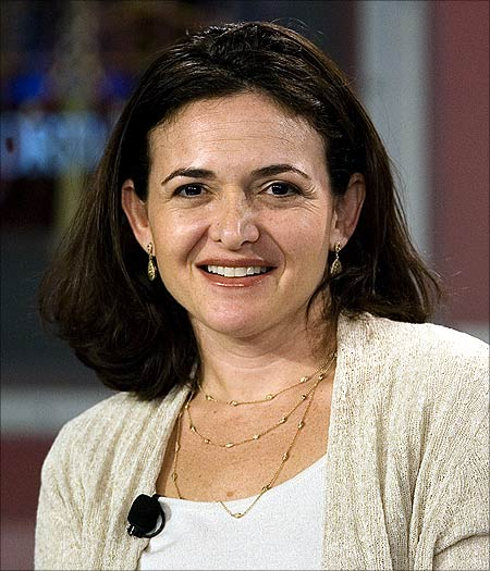 Sheryl Sandberg, chief operating officer of Facebook, speaks at the Fortune Brainstorm Tech conference in Half Moon Bay, California.