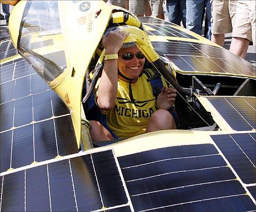 Solar car Continuum.