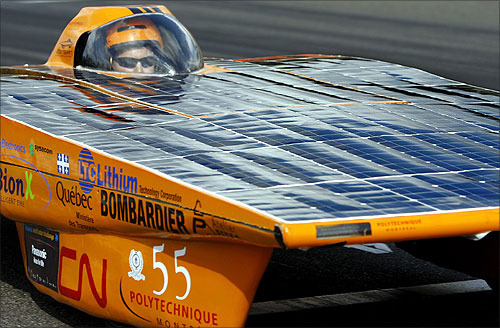 Solar car Esteban IV.