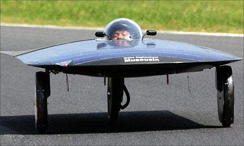 Solar car Musoushin.
