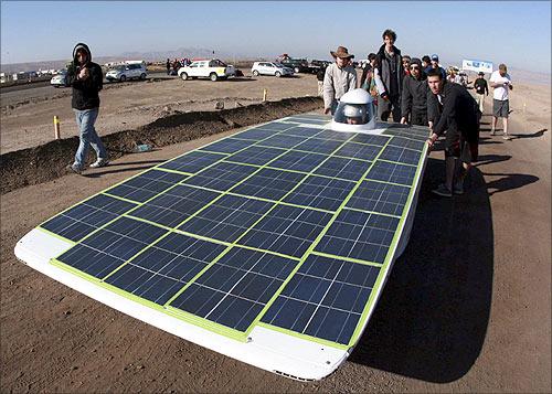 Solar car Eolian.