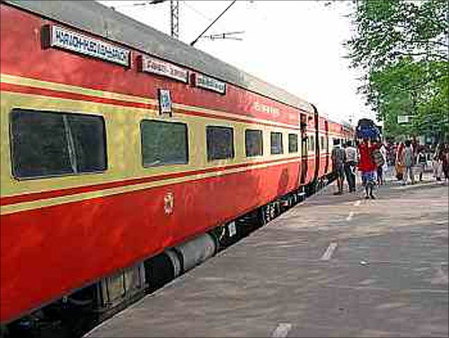 Rajdhani Express.