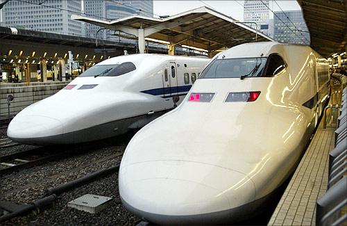 Japan's bullet train.