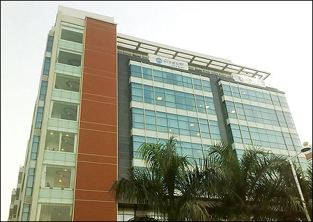 MphasiS headquarters at Bagmane Tech Park, Bangalore.