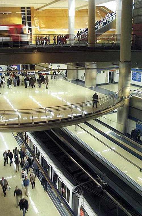 Madrid Metro.