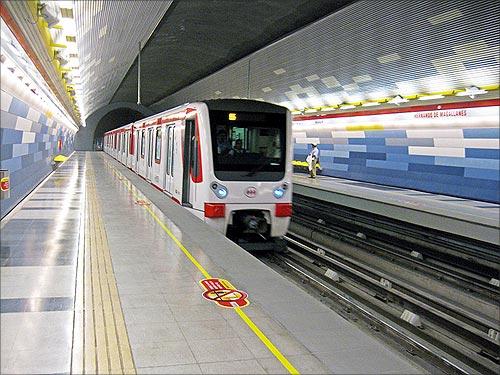 Santiago Metro.