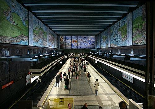 Vienna U-Bahn.