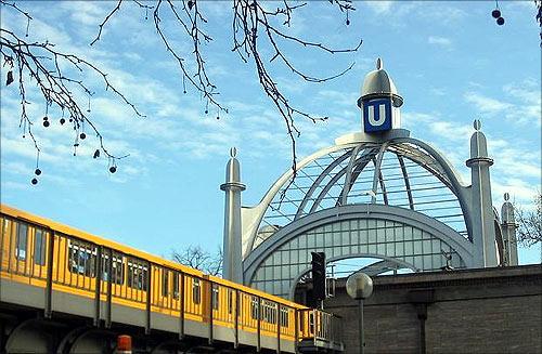 Berlin U-Bahn.