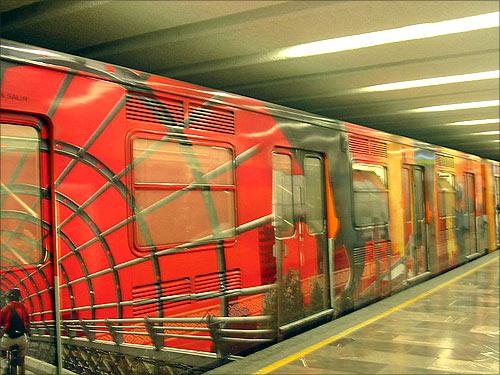 Mexico City Metro.