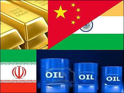 Iranian crude for gold - Beginning of the end of dollar?