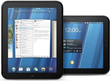 HP TouchPad.