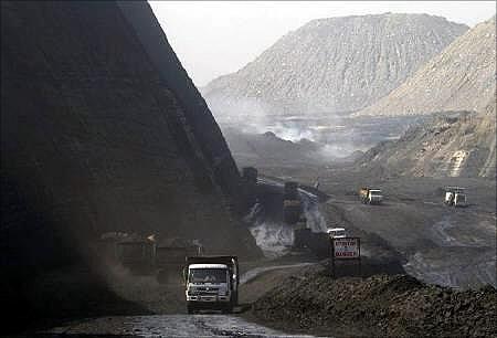 Coal India mine.