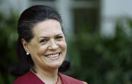 Congress chief Sonia Gandhi