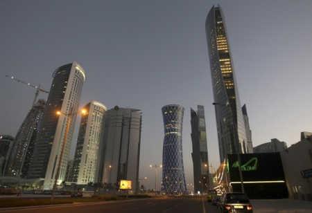 A view of Doha, capital of Qatar.