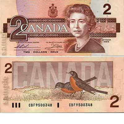 One Canadian dollar will give you 0.97 US dollar.