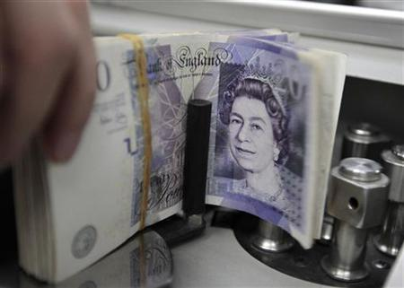 Pound sterling is the fourth most traded currency.