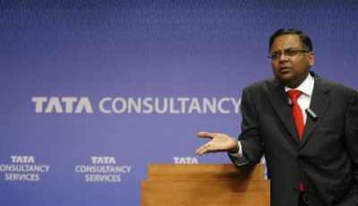 TCS Chief Executive Officer and Managing Director N Chandrasekaran.