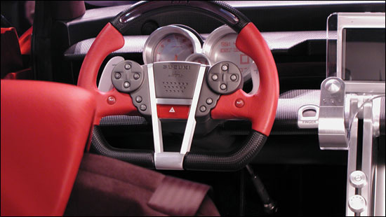 Interior view of S 2 concept.