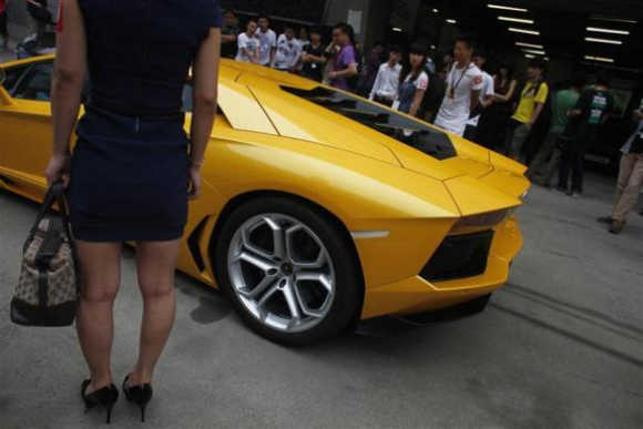 Shanghai's super car show