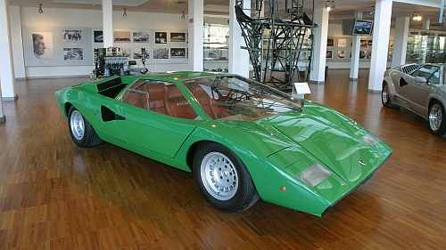 Down memory lane with the amazing Lamborghini