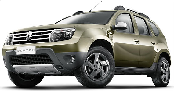 4 closest rivals of Renault Duster