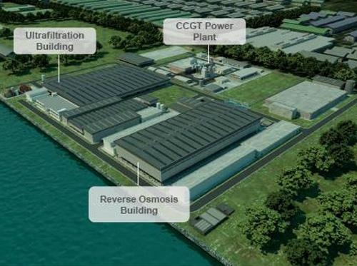 Desalination Plant.