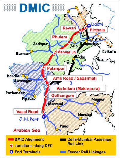 Delhi-Mumbai Industrial Corridor.
