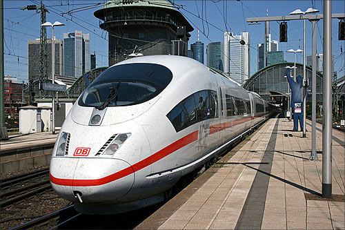 Inter city Express, Frankfurt.
