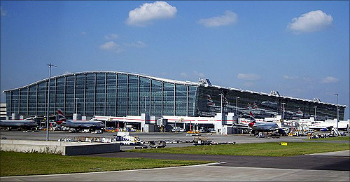 Heathrow Airport T5.