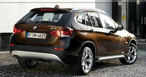BMW extended its lead over Mercedes after launching its compact SUV, X1
