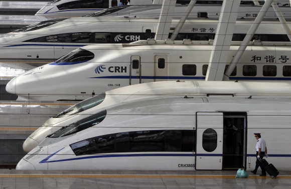 A look at Europe's high-speed train network