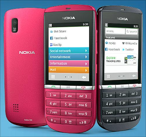 Nokia Asha.
