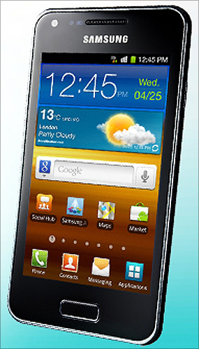 Samsung Galaxy.