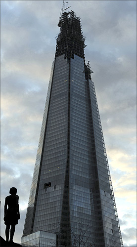 Amazing photos of Europe's tallest building