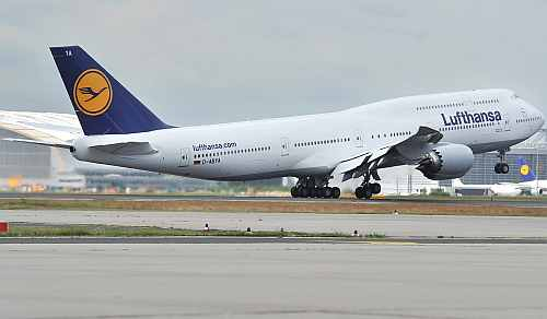 Sneak Peek: Lufthansa brings the new B747-8 aircraft to India