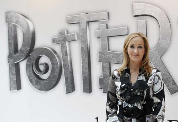 JK Rowling, author of Harry Potter series.