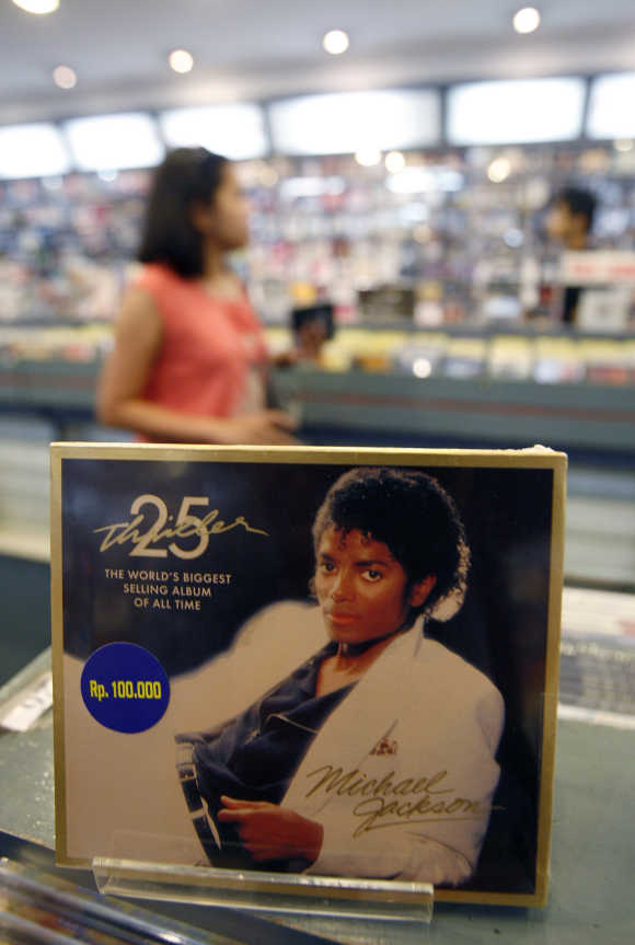 Michael Jackson's Thriller album.