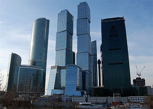 Capital City Moscow Tower.