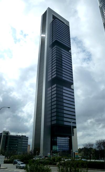 Torre Caja, Madrid.