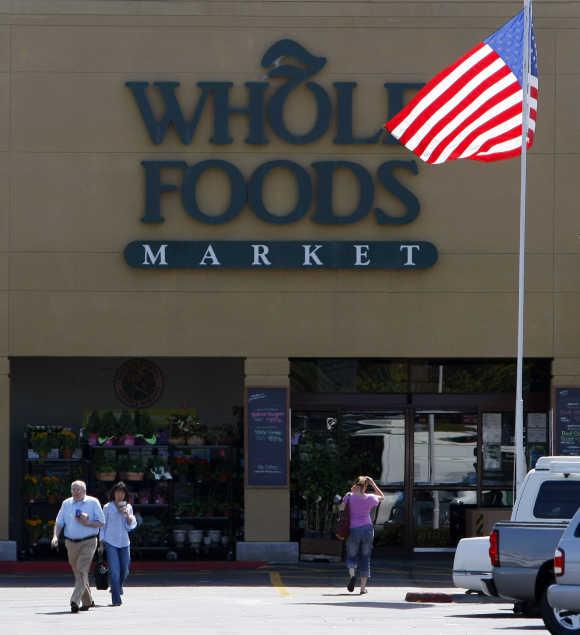 A Whole Foods Market in La Jolla California.