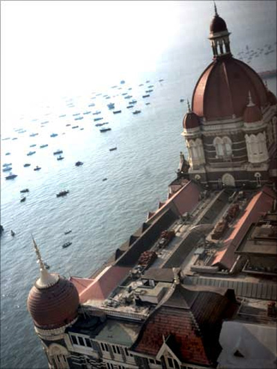 The Taj Mahal Hotel, Mumbai.