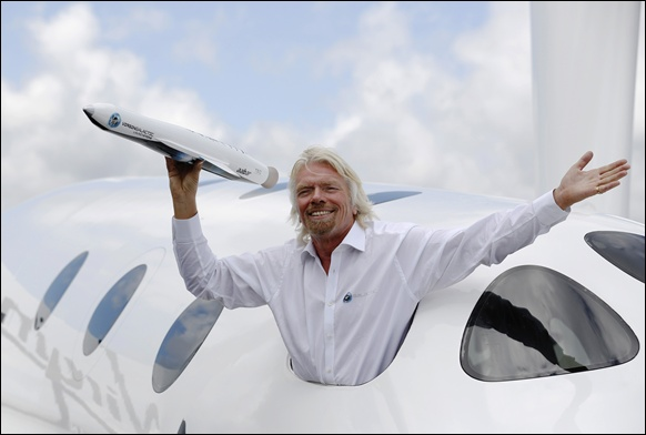 Virgin Atlantic founder Richard Branson was quick to grab opportunities and turn them in his favour