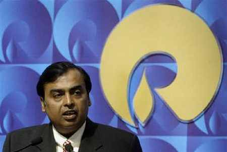 After the 2005 split between Ambani brothers that the textile business went to Mukesh Ambani under RIL.