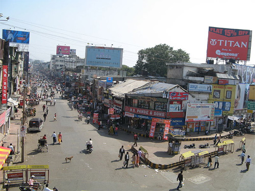 Sitabuldi main road, Nagpur.