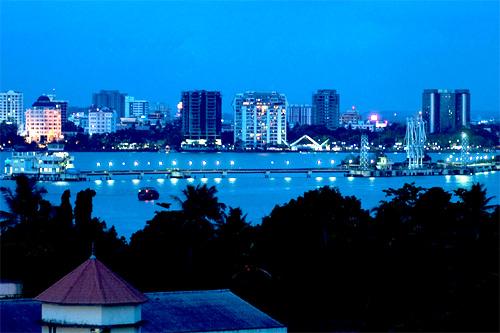 Marine Drive, Kochi.