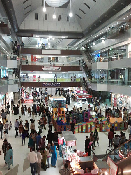 A mall in Surat.