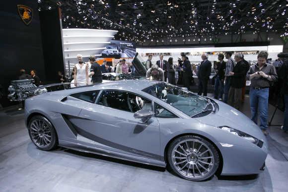 Lamborghini's Gallardo Superleggera.